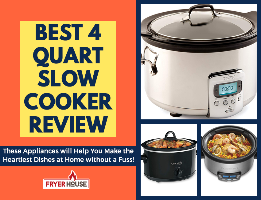 Best 4 Quart Slow Cooker Review