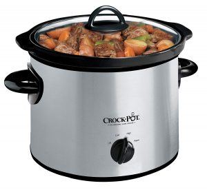 Crock Pot 3 Quart Manual Slow Cooker