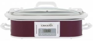 Crock-Pot 3.5-Quart Programmable Digital Casserole Slow Cooker