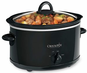 Crock-Pot 4-Quart Manual Slow Cooker