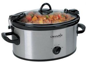 Crock-Pot 6-Quart Programmable Cook & Carry Slow Cooker