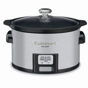 Cuisinart PSC-350 3 Quart Programmable Slow Cooker