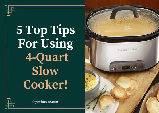 How to Use 4 Quart Slow Cooker