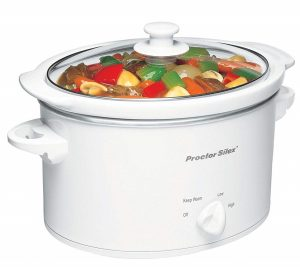 Proctor Silex Slow Cooker 3 Quart