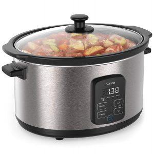 hOmeLabs 6 Quart Slow Cooker Pot