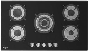 Empava 36 inch Black Cooktop 36GC204