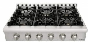 Thorkitchen Pro-Style Gas Rangetop with 6 Sealed Burners Review