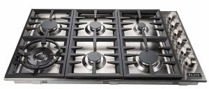 ZLINE 36 in Dropin Cooktop with 6 Gas Burners