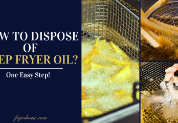 How to Dispose of Deep Fryer Oil? A Complete Guide