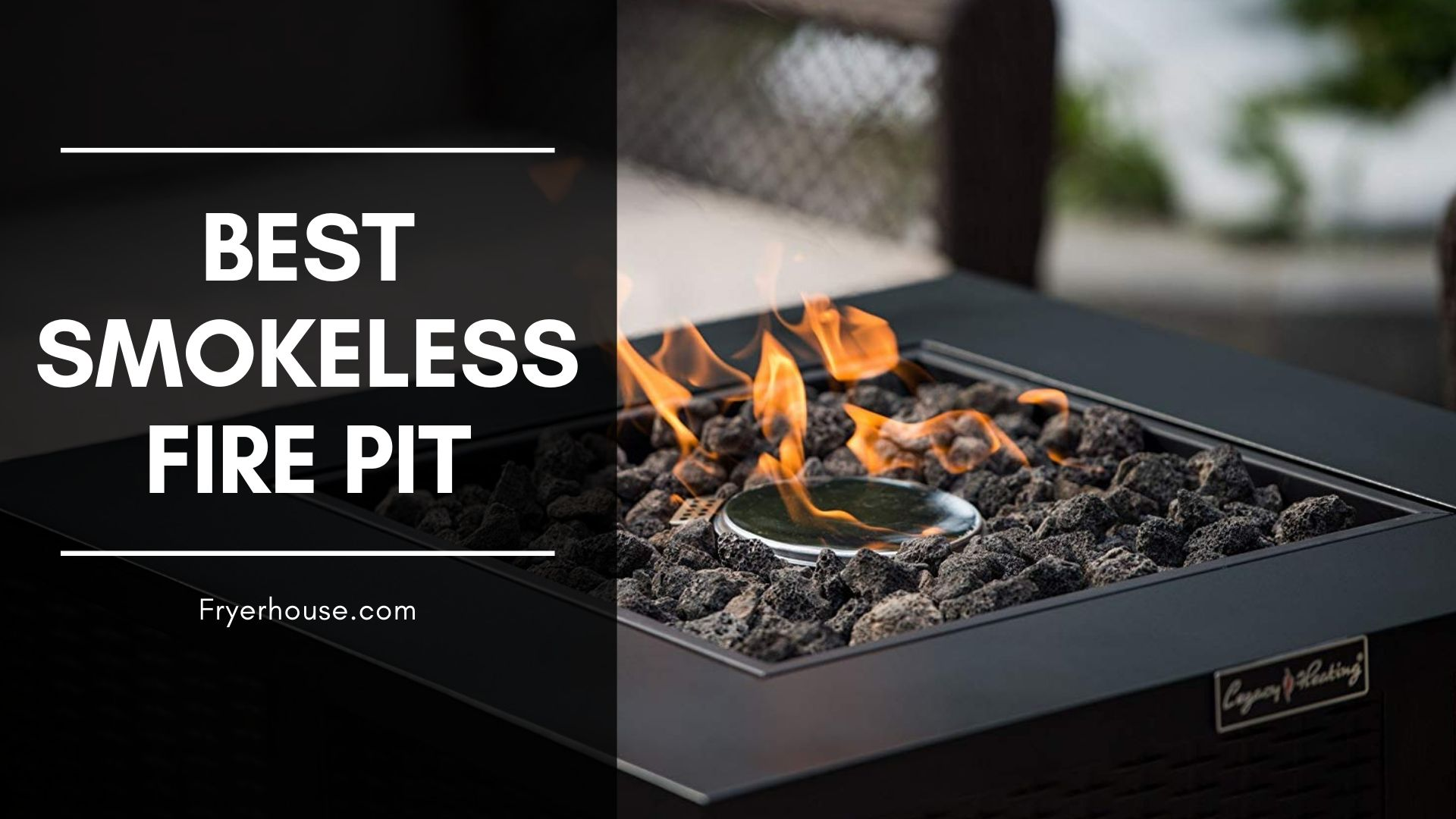 The Best Smokeless Fire Pit