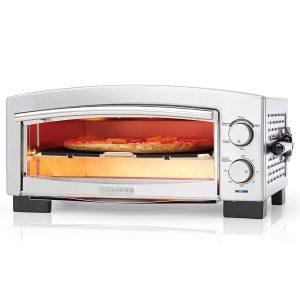 BLACK+DECKER P300S 5-Minute Pizza Oven