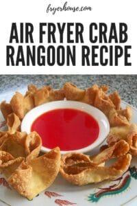 Easy Air Fryer Crab Rangoon Recipe