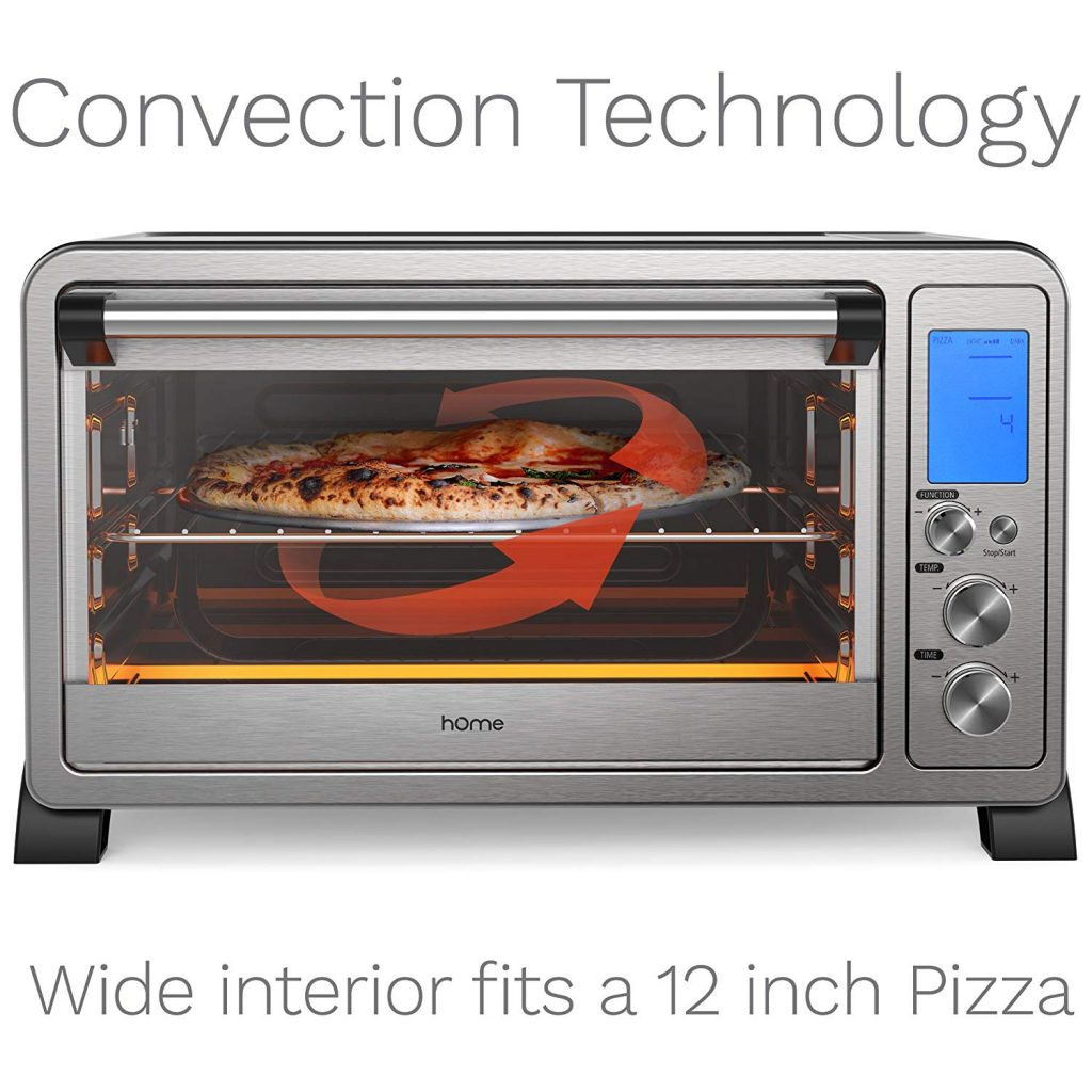 hOmeLabs Digital Electric Pizza Ovens