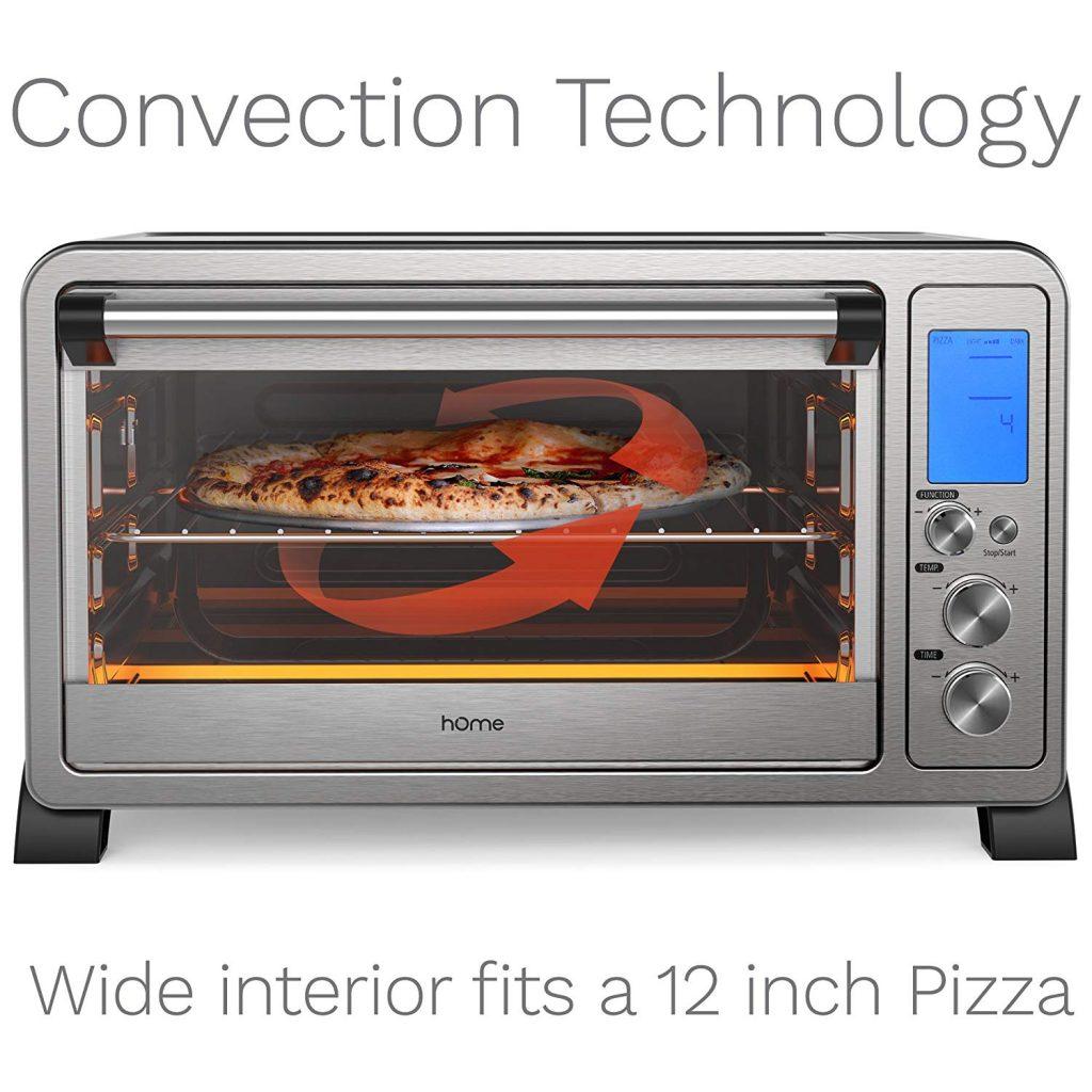 hOmeLabs Digital Electric Pizza Ovens