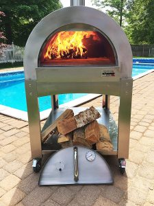 ilFornino Professional Series Portable Wood Pizza Oven