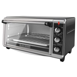 BLACK+DECKER Pizza Toaster Oven, 8-Slice