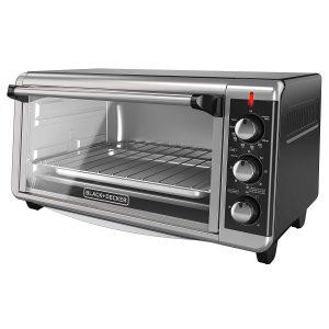 BLACK+DECKER Pizza Toaster Oven, 8-Slice