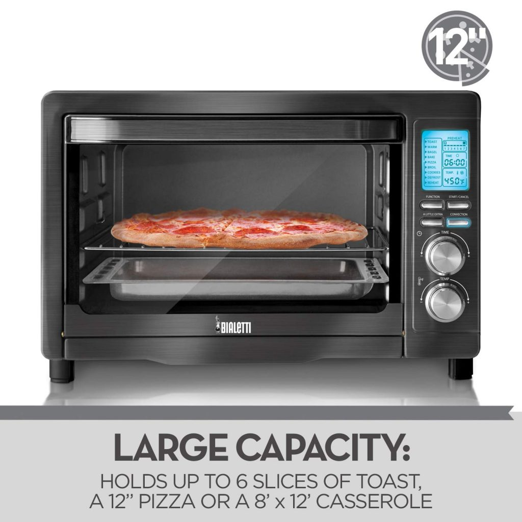 Bialetti 6-Slice Convection Toaster Ovens