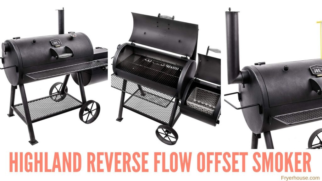 Highland Reverse Flow Offset Smoker