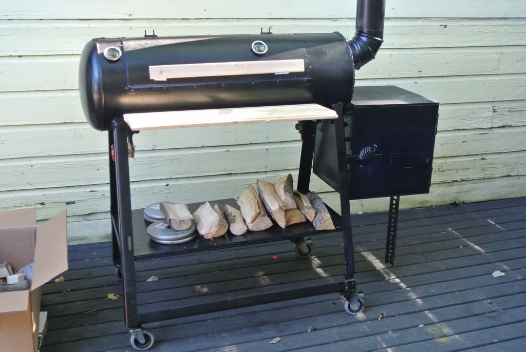 Reverse Flow Offset Smoker Plans