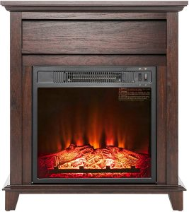 AKDY Electric Freestanding Fireplace