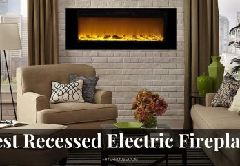 10 Best Recessed Electric Fireplace Reviews 2021
