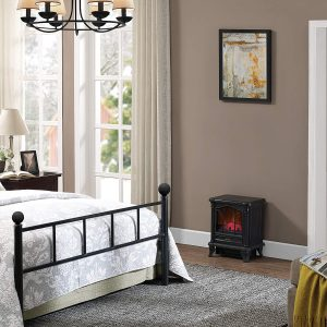 Duraflame DFS-450-2 Black Freestanding Electric Fireplace