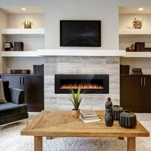 Joy Pebble Electric Fireplace