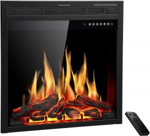 """R.W.FLAME 28"""" Electric Fireplace Insert"""