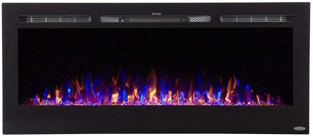 Touchstone 80004 50 Inch Recessed Electric Fireplace
