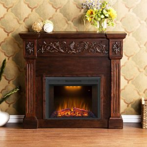 Valuxhome 36 Inch Electric Fireplace Insert
