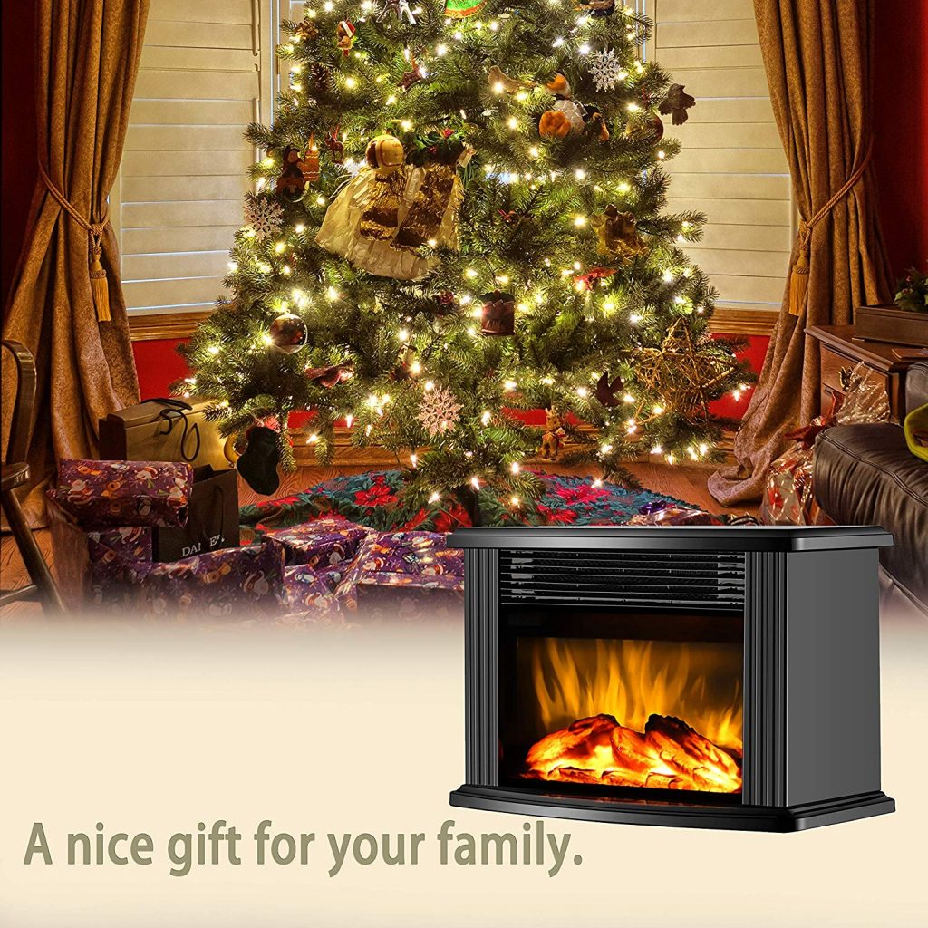 DONYER POWER 14 Portable Electric Fireplace