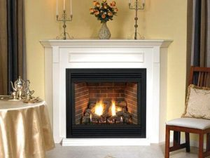 Empire Comfort Systems Premium 36 Direct-Vent NG Millivolt Control Fireplace