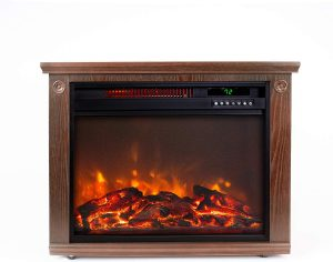 Lifesmart Large Room Infrared Quartz Fireplace, 1500 watt