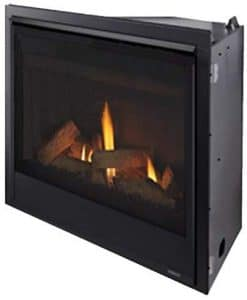 Majestic Quartz Direct Vent Natural Gas Burning Fireplace