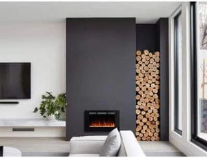 Masarflame 72 Linear Electric Fireplace Insert