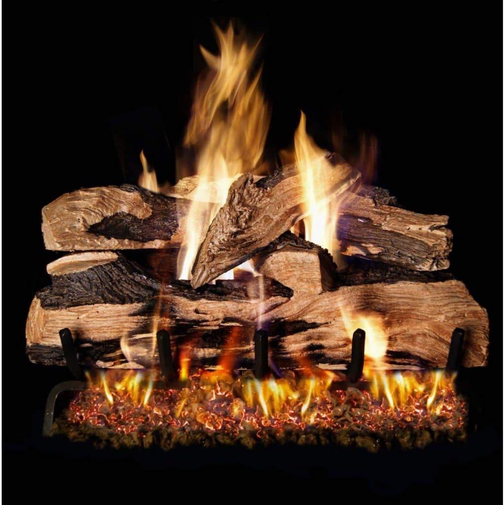 Peterson Real Fyre 24-inch Split Oak Designer Plus Log Set