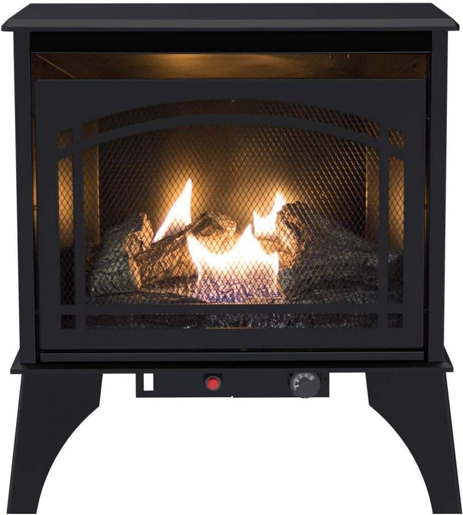 Pleasant Hearth VFS2-PH20DT 20000 BTU Compact Vent-Free Gas Stove