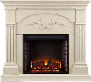 Southern Enterprises Sicilian Harvest Electric Mantel Fireplace