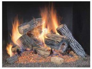 Sure Heat BRO24NG Vented Gas Log Set