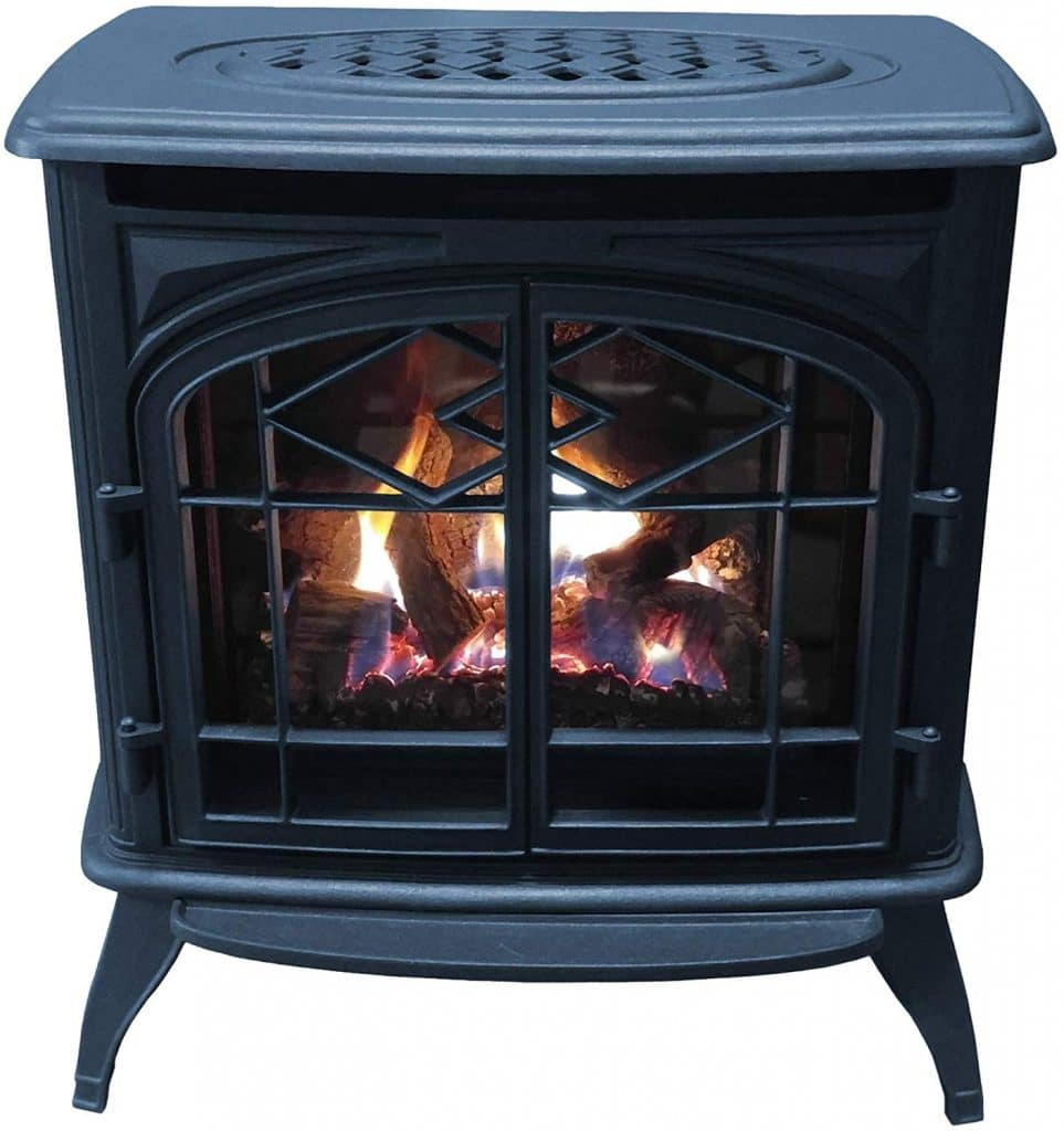 Thelin Echo Direct Vent (NG) Natural Gas Fireplace