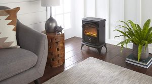e-Flame USA Hamilton Free Portable Electric Fireplace