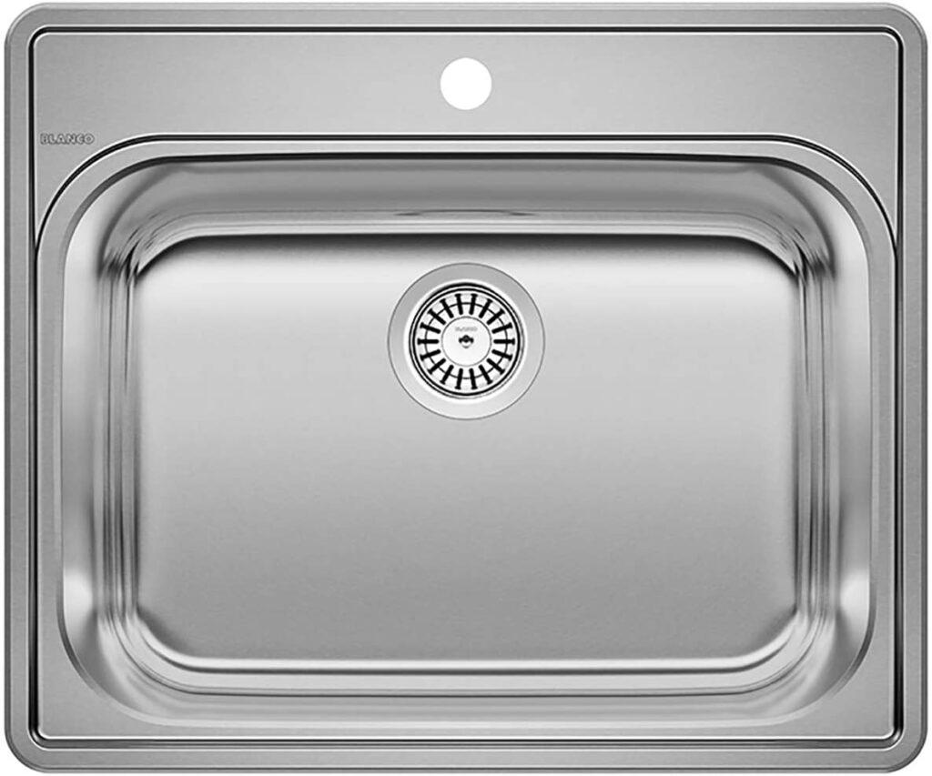 BLANCO ESSENTIAL Drop-In Stainless Steel Kitchen Sink