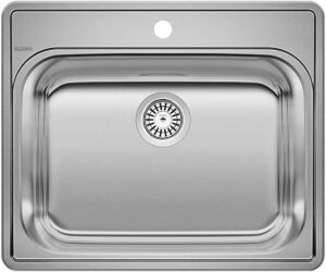 BLANCO ESSENTIAL Drop-In Stainless Steel Kitchen Sink