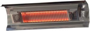 Fire Sense Indoor Outdoor Wall-Mounted Infrared Heater