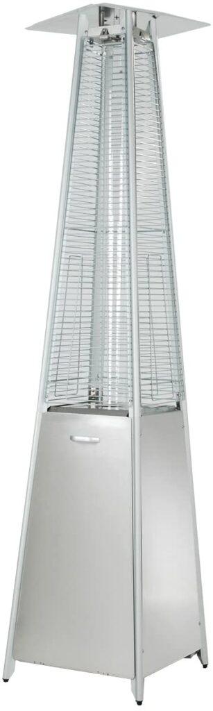 Hiland HLDS01-GTSS Quartz Glass Tube Patio Heater, 40,000 BTU