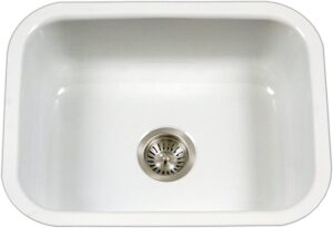 Houzer PCS-2500 WH Porcela Series Undermount Sink
