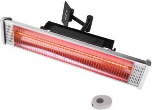 Star Patio Electric Patio Heater with Remote