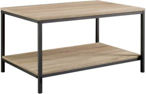 Ameriwood Home Carver Coffee Table for Sectional with Chaise