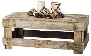 Del Hutson Designs Rustic Farmhouse Coffee Table